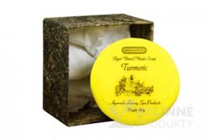Ajurvédske mydlo - TURMERIC