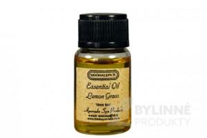 Ayur Essential Oil Lemongrass - 100% esenciálny olej Citrónová tráva