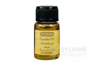 Ayur Essential Oil Sandalwood - 100% esenciálny olej Santalové drevo