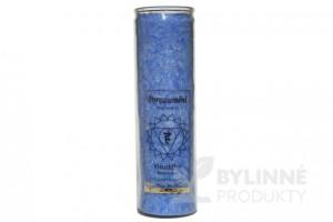 Čakrová sviečka – modrá veľká