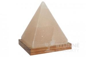 Soľná lampa elektrická - pyramída