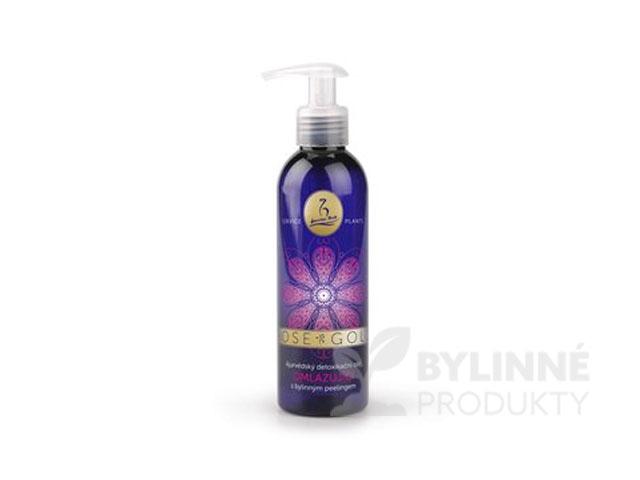 ROSE-GOLD detoxikačný olej s bylinným peelingom – OMLADZUJÚCI