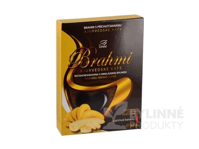 Ajurvédska káva Brahmi s príchuťou banánu