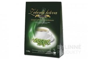 Zelená káva s kardamónom