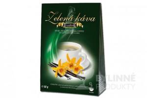 Zelená káva s vanilkou