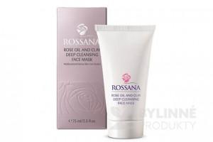 Rossana Rose Oil hĺbkovo čistiaca maska s ílom
